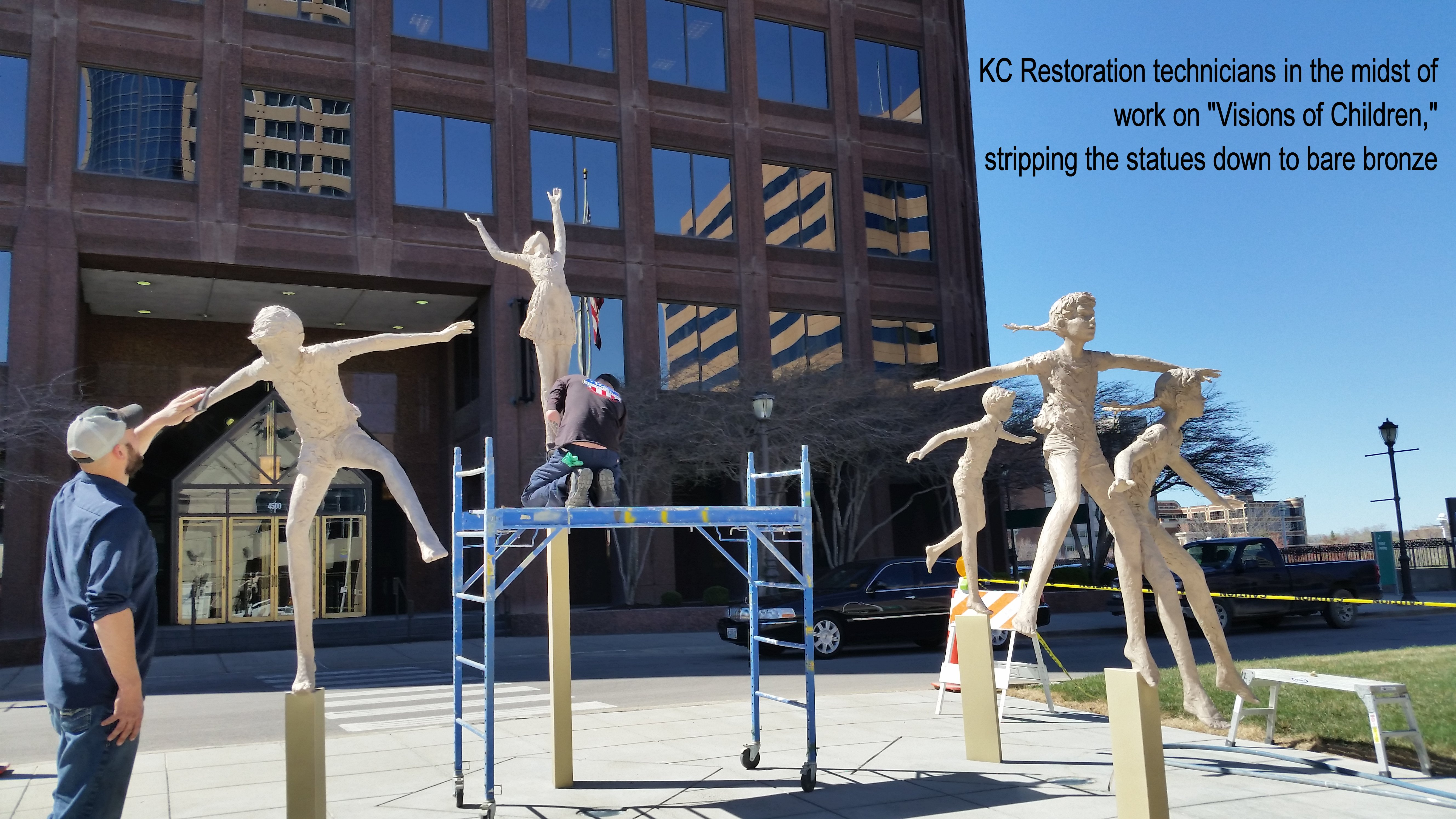 American Century statues