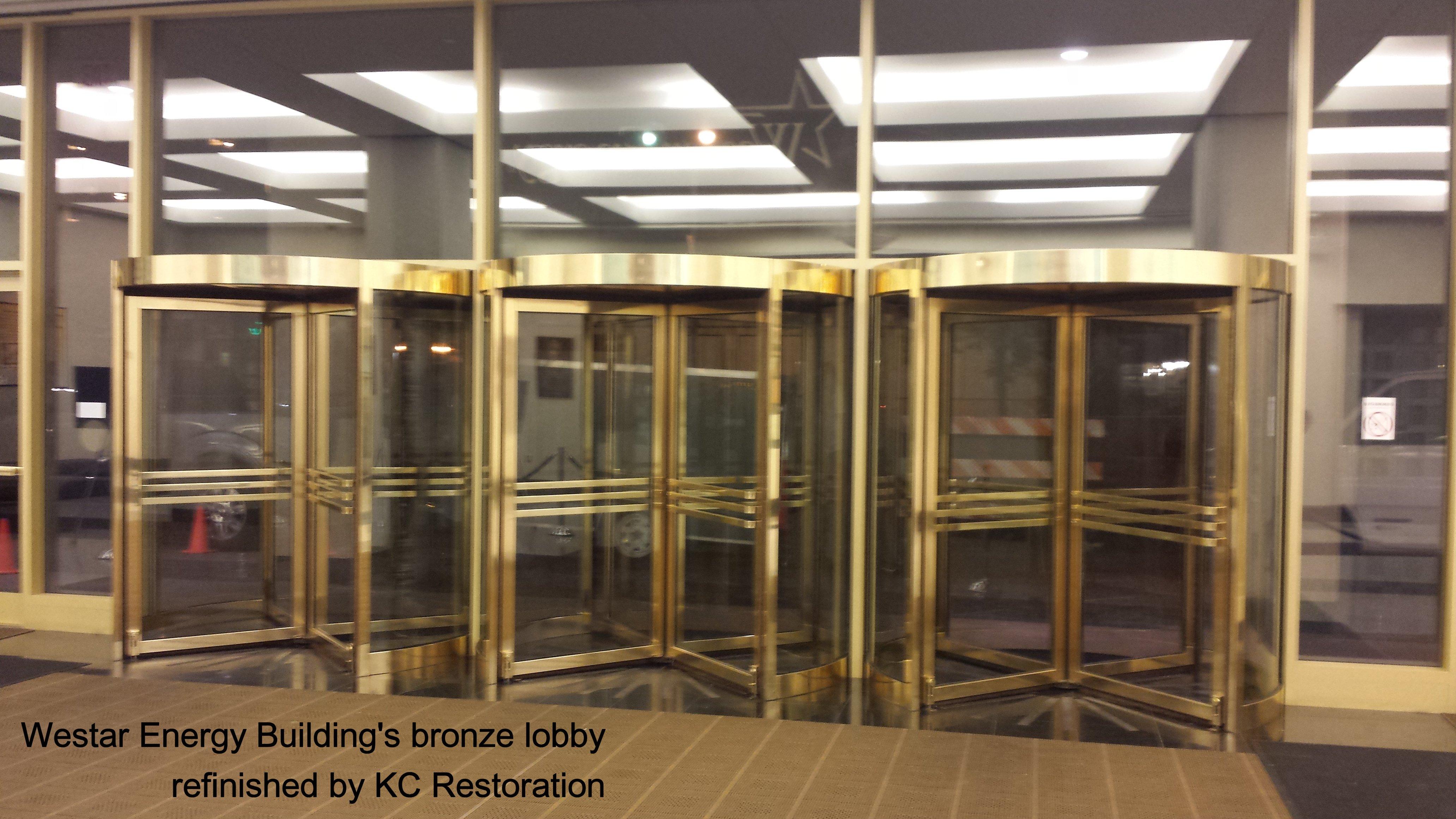 bronze lobby