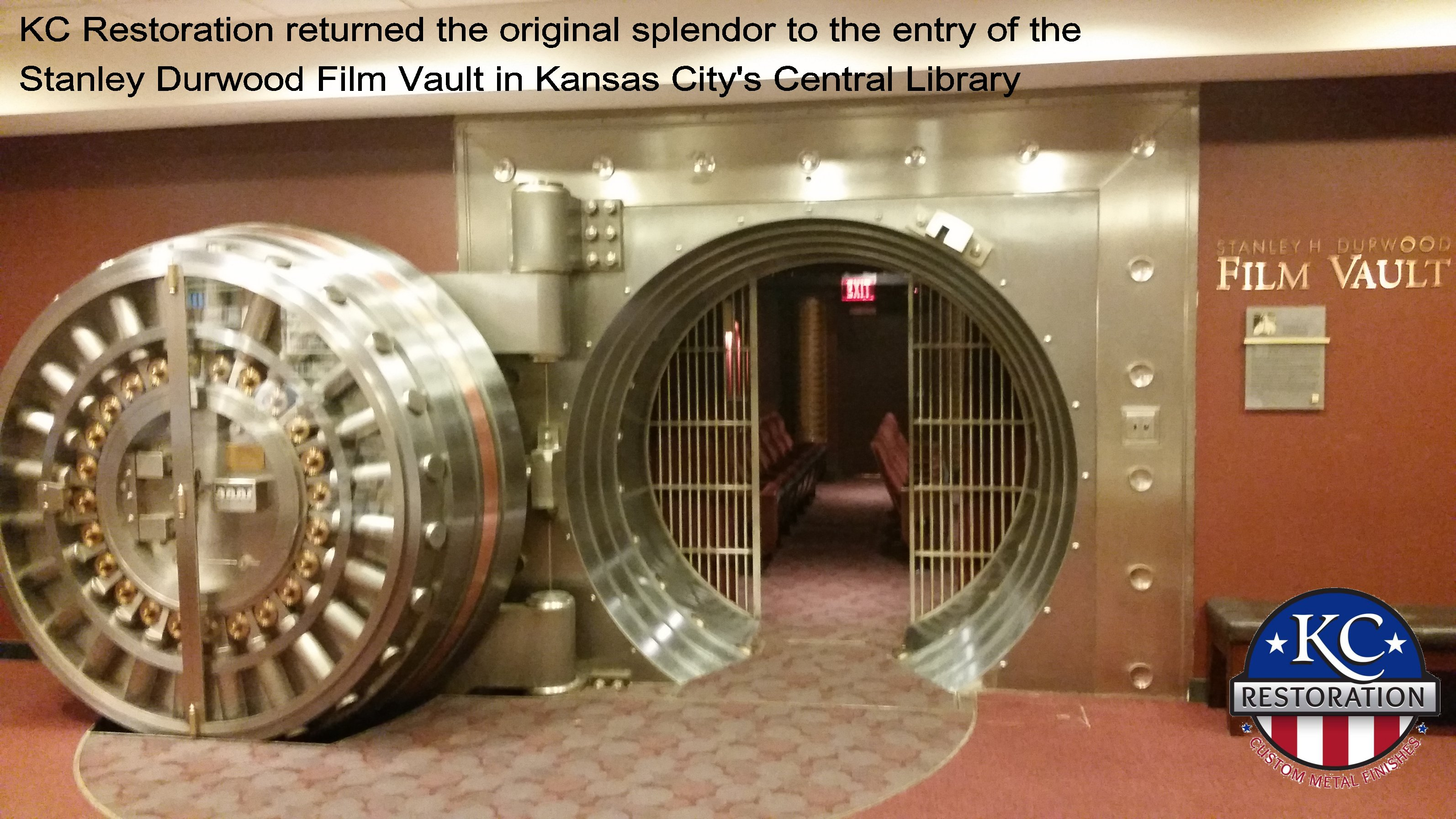 Library vault