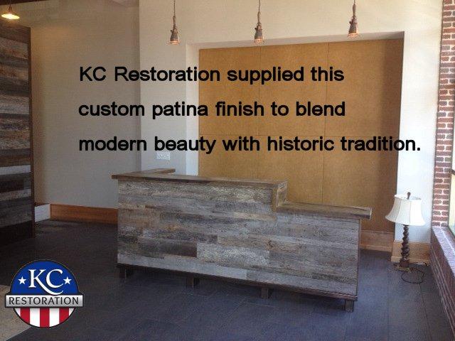 Custom patina
