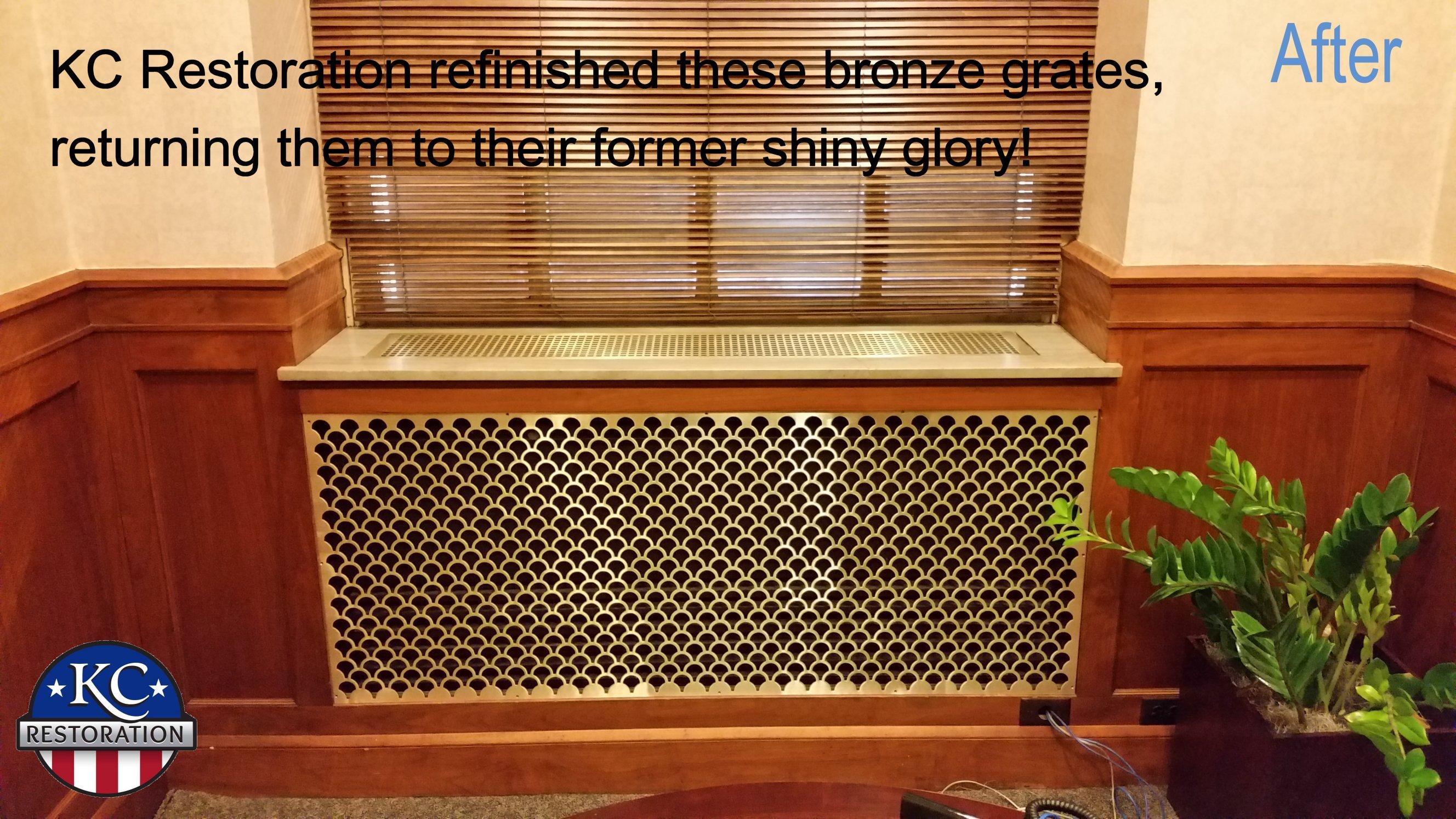 Grate restoration