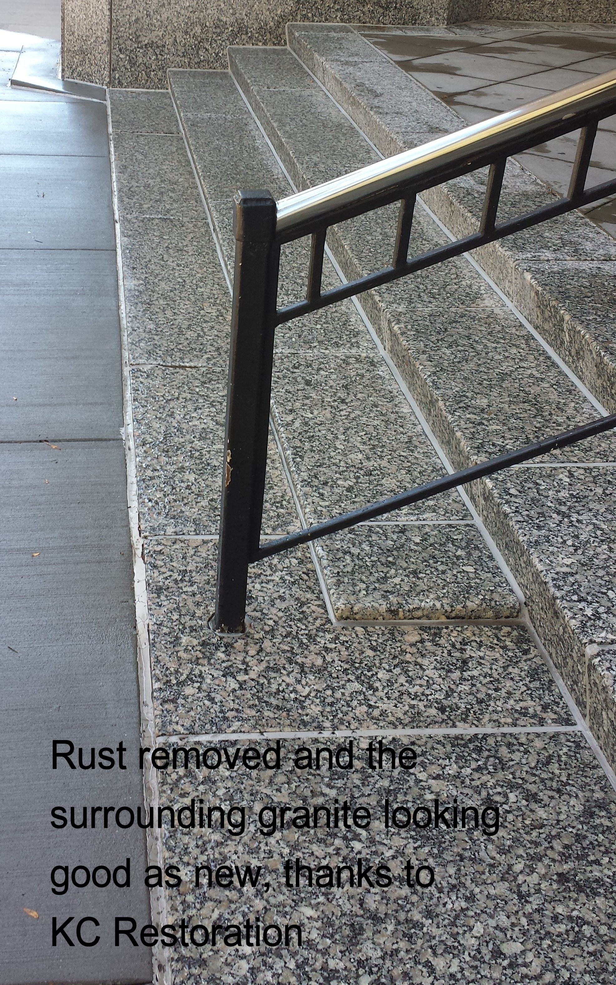 Rust removal by KC Restoration