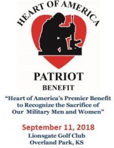 Heart of America Patriot Golf Tournament Starts Tomorrow