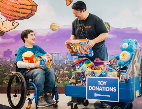 Final Days of Autumn Toy Drive for Children's Mercy