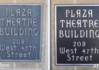 Signs and Plaques Restoration