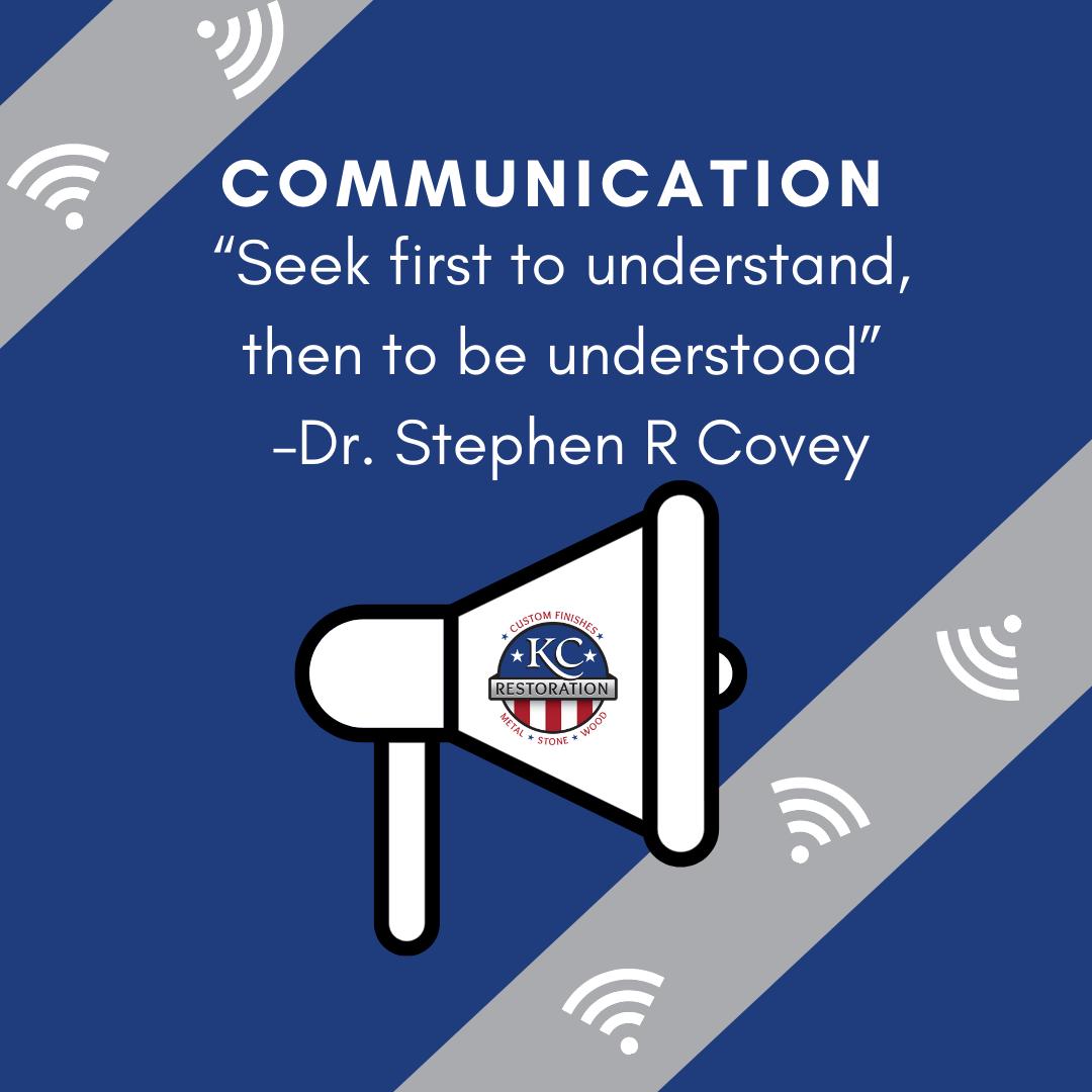 KCR Culture Series: Communication