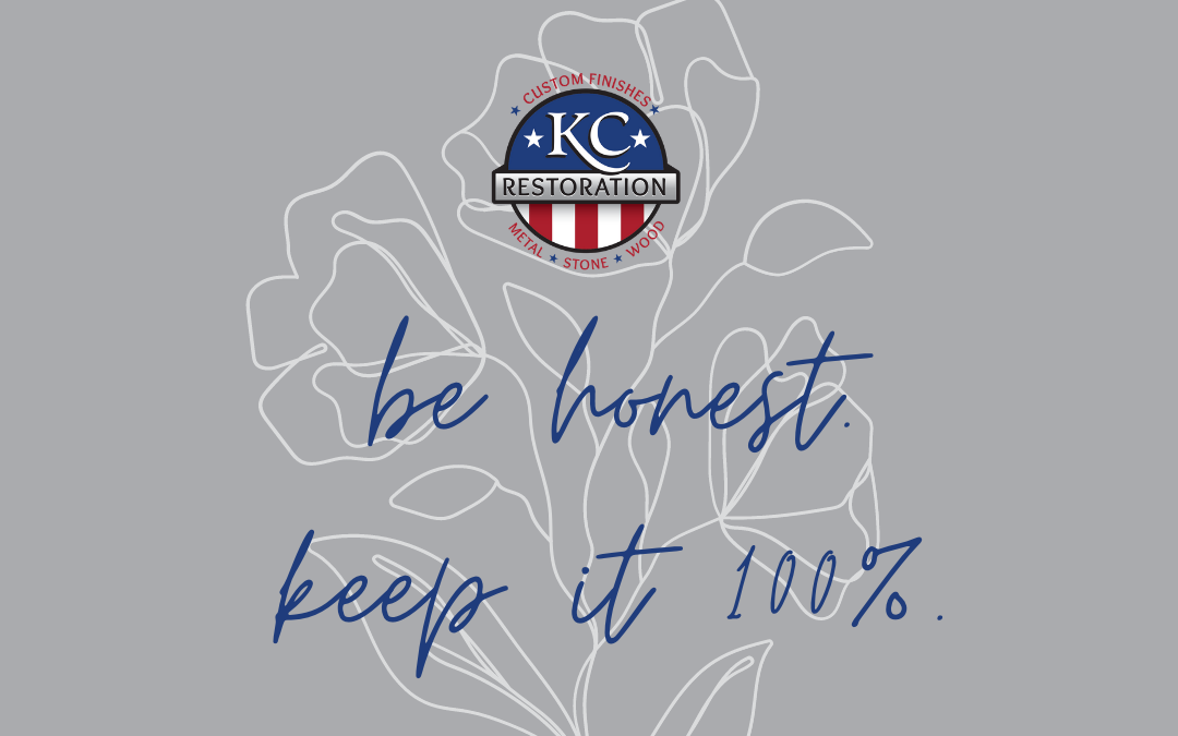 KCR Culture Series: Integrity