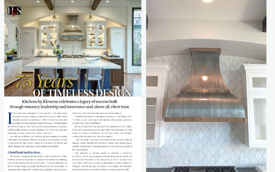 KC Restoration Project Featured in Kansas City Homes and Style Magazine