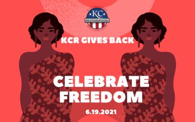 KCR Gives Back for Juneteenth