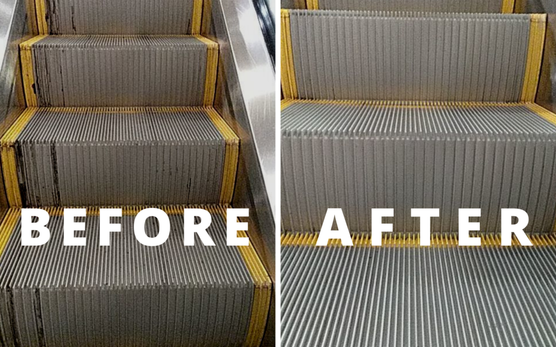Escalator Cleaning Tips