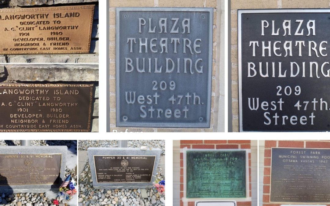 Preserve History with Restoration of Plaques and Memorials